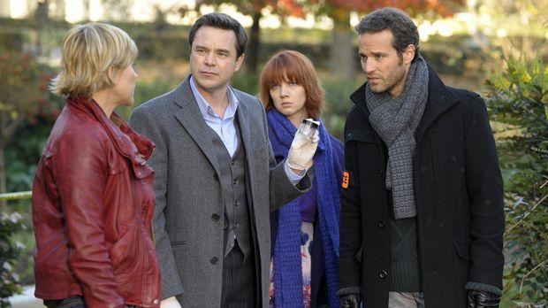 Ermitteln in einem neuen Fall: Fred (Vanessa Valence, l.), der Doc (Guillaume...