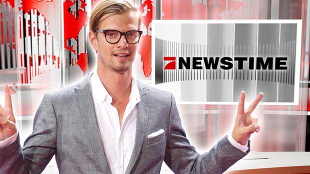 Joko moderiert die ProSieben NEWSTIME