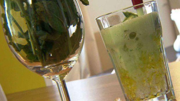 Limetten-Minz-Limonade