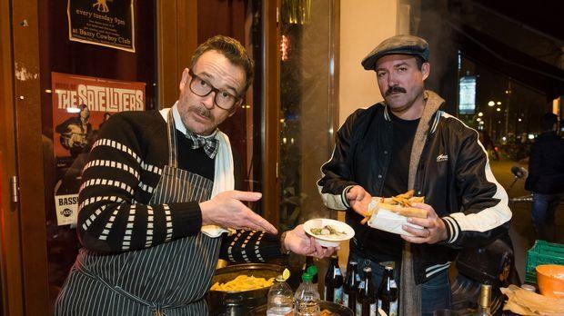COWBOY & DANDY - So geht Street Food: Tammi (r.) und Bo (l.) haben sich vor d...