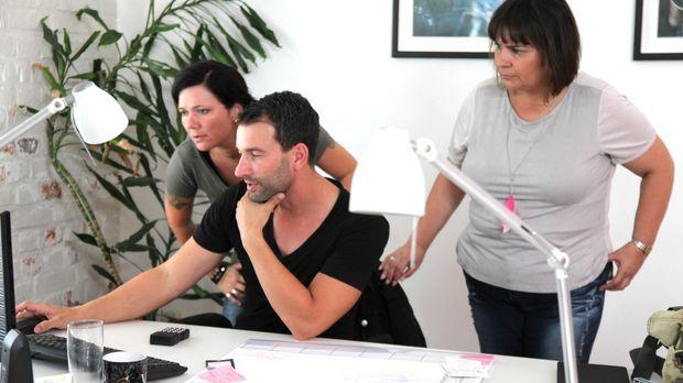 Antonia Knopf (l.) kämpft gemeinsam mit ihrem Team, Iris Hauser (r.) und Chri...