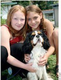 Kinder mit Hund SOS Kinderdorf