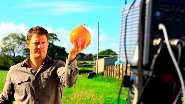 Ob Zeitraffer oder Zeitlupe, Wärme- oder Minikamera - Steve Backshall gewährt...