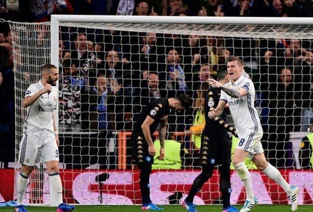 Toni Kroos schießt Real Madrid auf die Siegerstraße