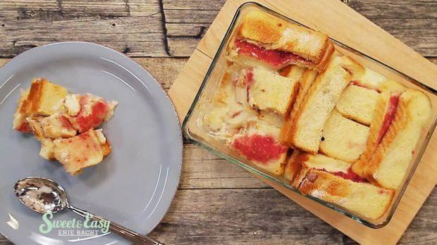 Marmeladenbrot-Auflauf: Das leckere Rezept aus Sweet & Easy - Enie backt