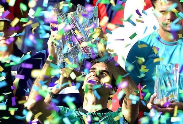 Indian-Wells-Sieger Roger Federer