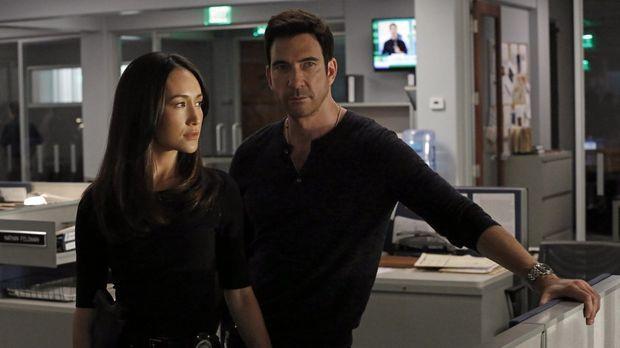 Ein neuer Fall beschäftigt Jack (Dylan McDermott, r.) und Beth (Maggie Q, l.)...