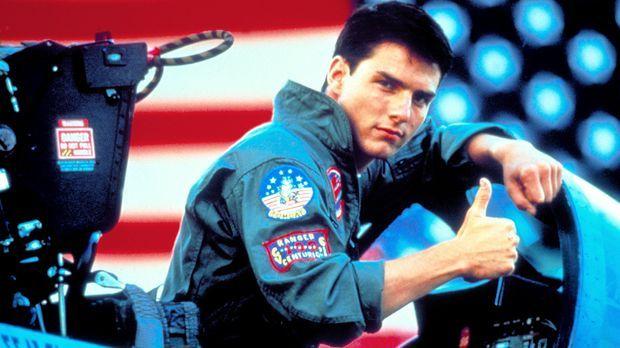 Pete Mitchell (Tom Cruise), Fliegername 'Maverick', ist stolz, als Navy-Pilot...
