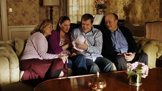 Eine glückliche Familie: Sam (Kyle Bornheimer, 2.v.r.), Melanie (Erinn Hayes,...