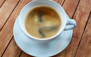 Kaffee in Kaffetass