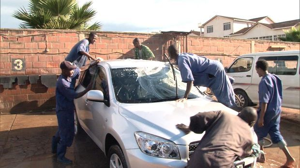 Kontrastreportage Autowaschen