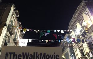 The Walk Movie Slackline