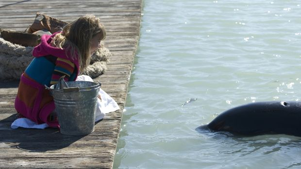 Als Kirra (Bindi Irwin) einen gestrandeten jungen Schwertwal entdeckt, freund...