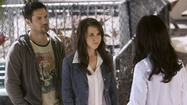 Kann Melinda (Jennifer Love Hewitt, r.) Donna Ellis (Lacey Chabert, M.) und...
