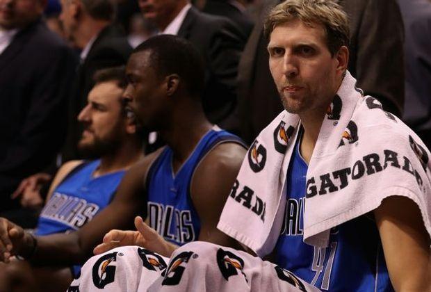 Ziel der Mavs und Dirk Nowitzki sind die NBA-Play-offs