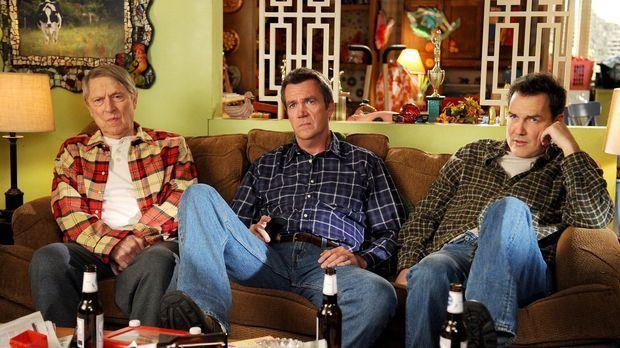 Die Heck-Männer haben eins gemeinsam: Big Mike (John Cullum. L.), Mike (Neil...