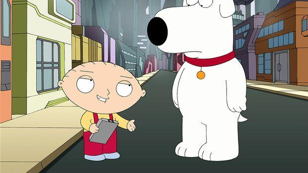 Stewie und Brian begeben sich auf eine wilde Reise quer durch alle möglichen...