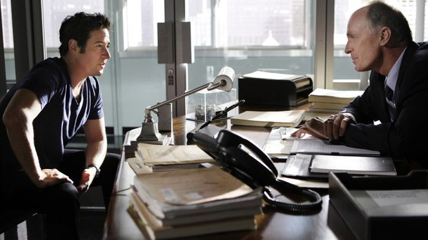 Arbeiten an einem neuen Fall: Don (Rob Morrow, l.) und Agent McGowan (Keith C...