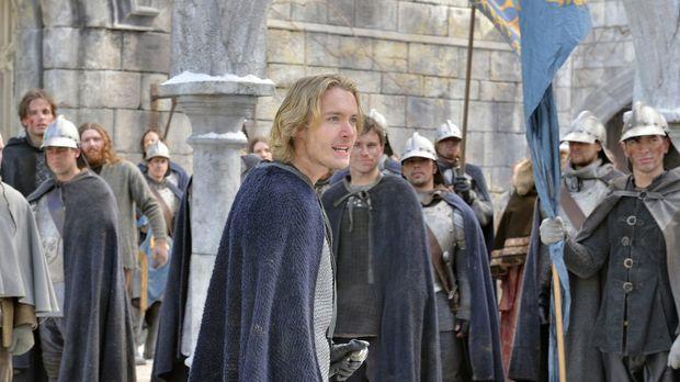 Prinz Francis (Toby Regbo, vorne) muss sich an die Spitze des Kampfes gegen E...