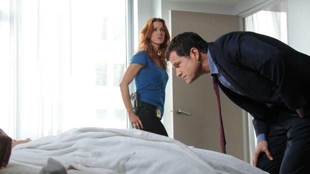 Ein neuer Mordfall beschäftigt Carrie (Poppy Montgomery, l.) und Al (Dylan Wa...