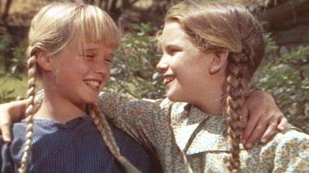 Laura (Melissa Gilbert, r.) und Schulkameradin Olga Nordstrom (Kim Richards,...