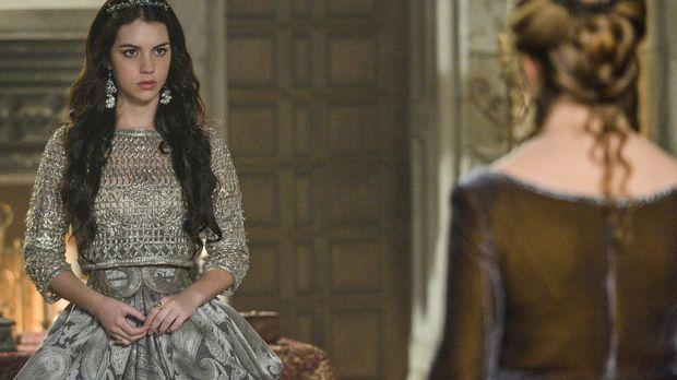 Königin Katherine (Megan Follows, r.) tut alles, um die Ehe zwischen ihrem So...