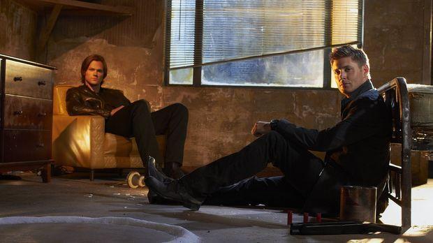 (7. Staffel) - Die beiden Brüder Sam (Jared Padalecki, l.) und Dean Wincheste...