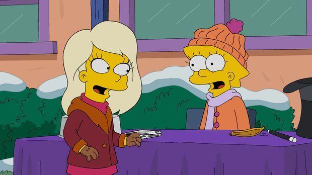 In der Schule lernt Lisa (r.) Harper (l.) kennen. Doch steht den beiden eine...