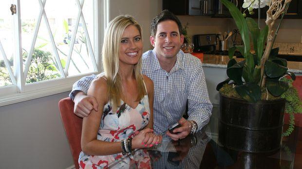 Haben Tarek (r.) und Christina (l.) mit dem Schnäppchen-Haus in Buena Park wi...