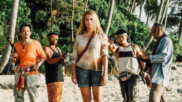 Vom Traumurlaub zum Horrortrip: Als Piraten (Sahajak Boonthanakit-Poo, l.) ei...