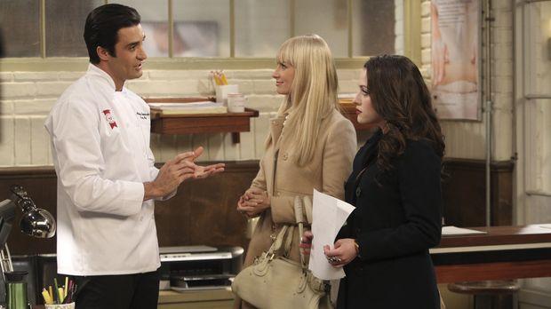 Max (Kat Dennings, r.) beschließt, sich bei der Manhattan School of Pastry zu...