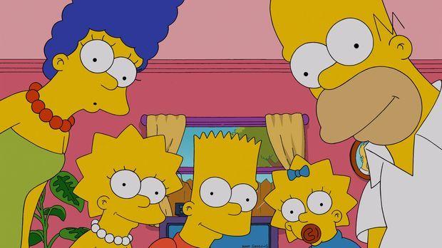 Ahnen nicht, was sie mit dem Kauf einer neuen Couch anrichten: Homer (r.), Ma...