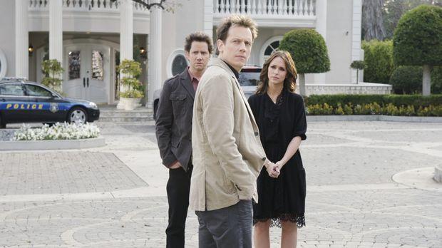 Eli James (Jamie Kennedy, l.) und Melinda (Jennifer Love Hewitt, r.) nehmen K...