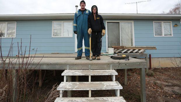 Eine neue Herausforderung für Wade und sein House Moving-Team: Das Traumhaus...