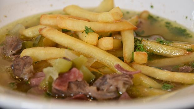 Pommes-Suppe