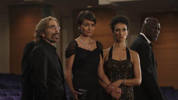 Ihr Opernbesuch verläuft ganz anders als geplant: Guerrero (Jackie Earle Hale...