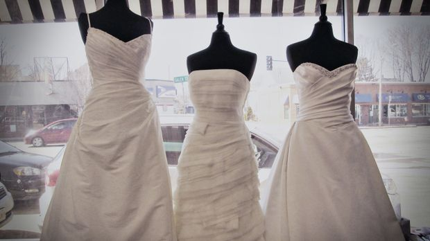 Auch ein Designer-Kleid kann ein Schnäppchen sein ... © TLC