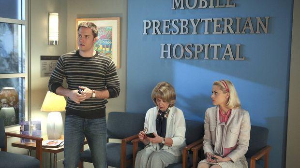 Voller Hoffnung warten George (Scott Porter, l.), Clora (Ilene Graff, M.) und...
