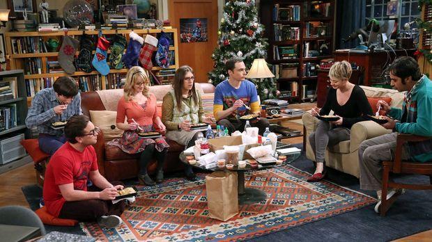 Ein ganz besonderes Weihnachtsfest wartet auf Bernadette (Melissa Rauch, 3.v....