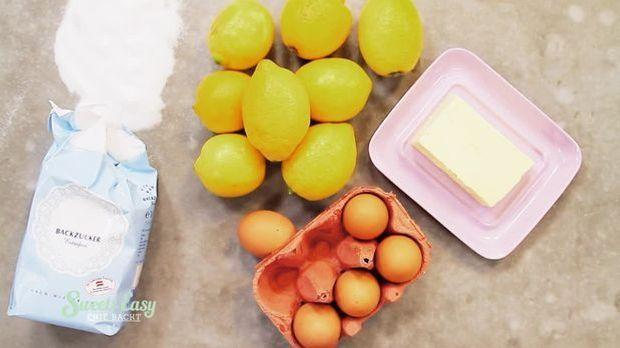 Nur vier Zutaten braucht ihr für euer fruchtiges Lemon Curd