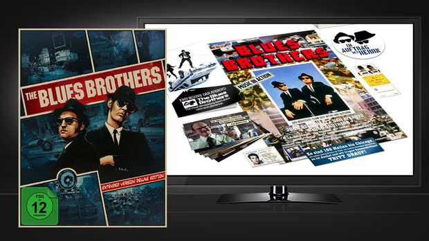 Blues Brothers Extended Box © Universal Pictures