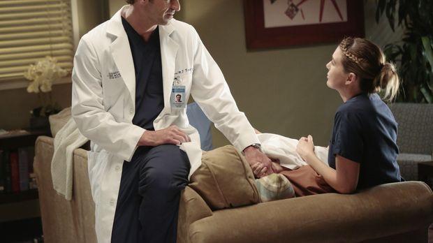 Meredith (Ellen Pompeo, r.) fühlt sich von ihrem Mann unter Druck gesetzt. Wi...