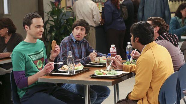Gute Freunde: Howard (Simon Helberg, 2.v.l.), Sheldon (Jim Parsons, l.), Leon...