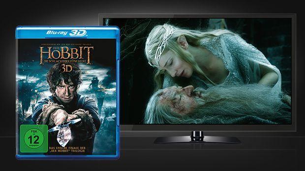 Hobbit - Die Schlacht der 5 Heere 3D Blu-ray © Warner Home Video