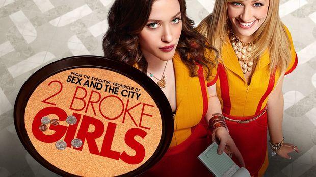 (1. Staffel) - 2 Broke Girls: Max Black (Kat Dennings, l.) und Caroline Chann...