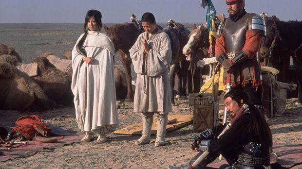 Captain Li Zai (Wen Jiang, M.) und Lai Xi (Kiichi Nakai, r.) kommen überein,...