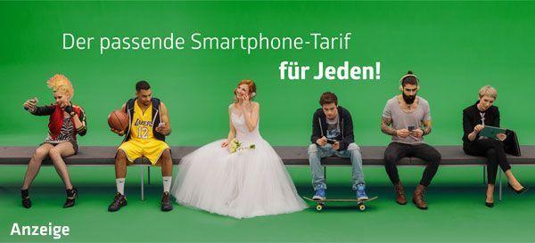 Passender Smartphone-Tarif für jeden