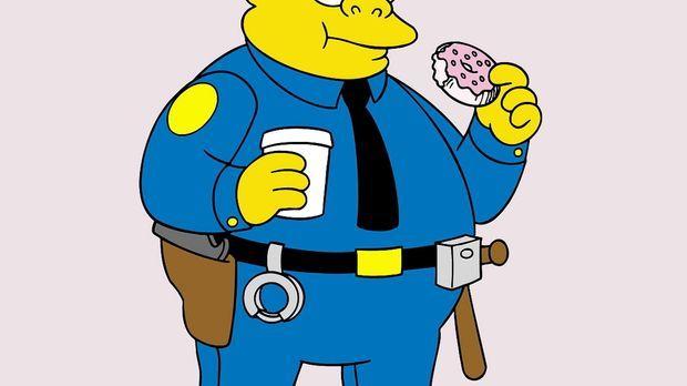 (13. Staffel) - Auch Chief Wiggum, Polizeichef in Springfield, ist ein Donut-...