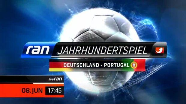 Jahrhunderspiel Deutschland Portugal © kabel eins