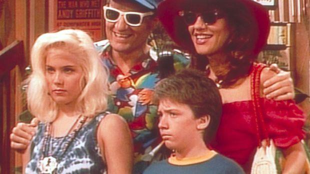 Ferienfoto der Familie Bundy im Provinznest Dumpwater: Kelly (Christina Apple...